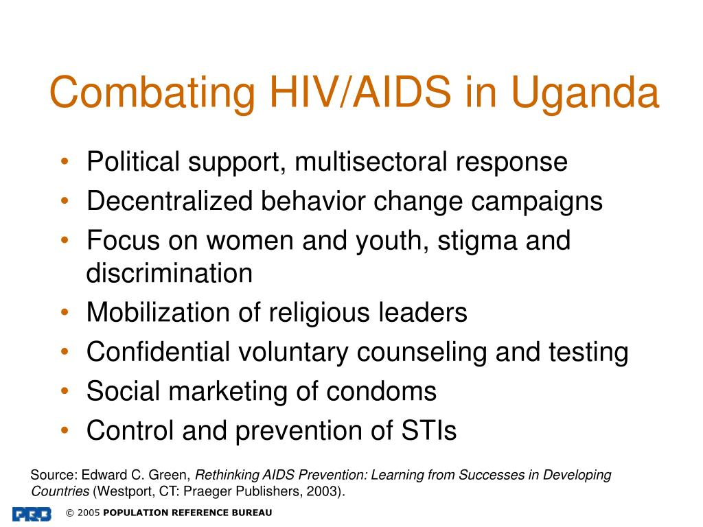 Combating HIV/AIDS in Uganda