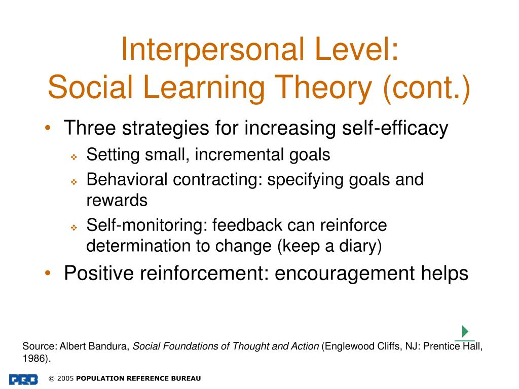 Interpersonal Level: