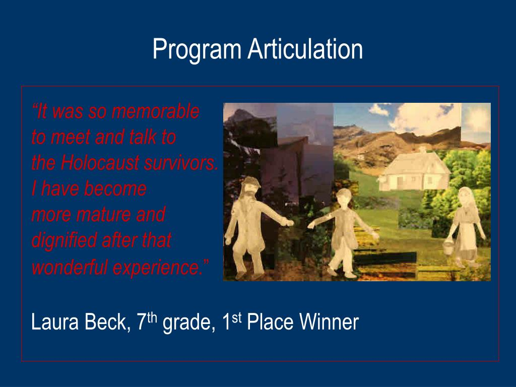 Program Articulation