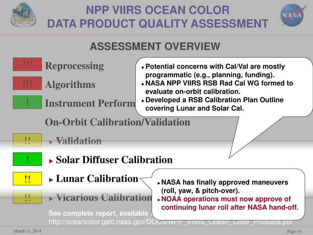 NPP VIIRS OCEAN COLOR