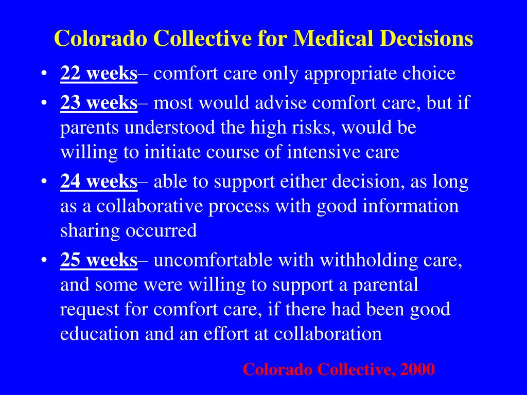 Colorado Collective for Medical Decisions