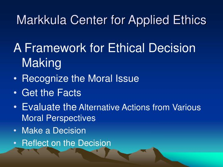 describe both your personal ethics and moral perspectives Ethics: a general introduction ethics are a system of moral principles and a branch of philosophy which defines what is good for individuals and society subjectivism teaches that moral judgments are nothing more than statements of a person's feelings or attitudes, and that ethical statements do.