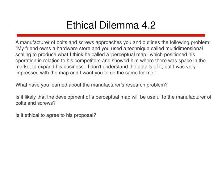 Ethical dilemma 4 2