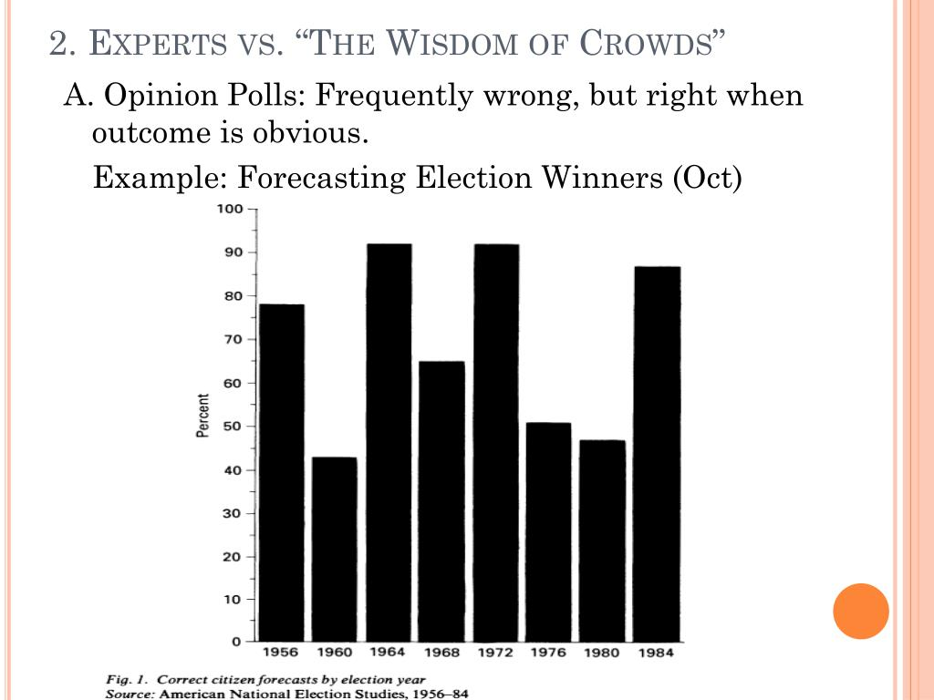 """2. Experts vs. """"The Wisdom of Crowds"""""""