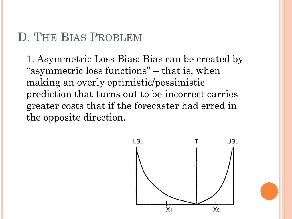 D. The Bias Problem