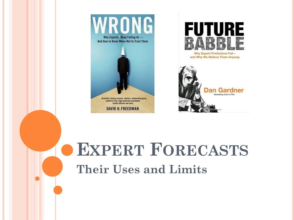 Expert Forecasts