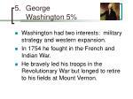 george washington 5