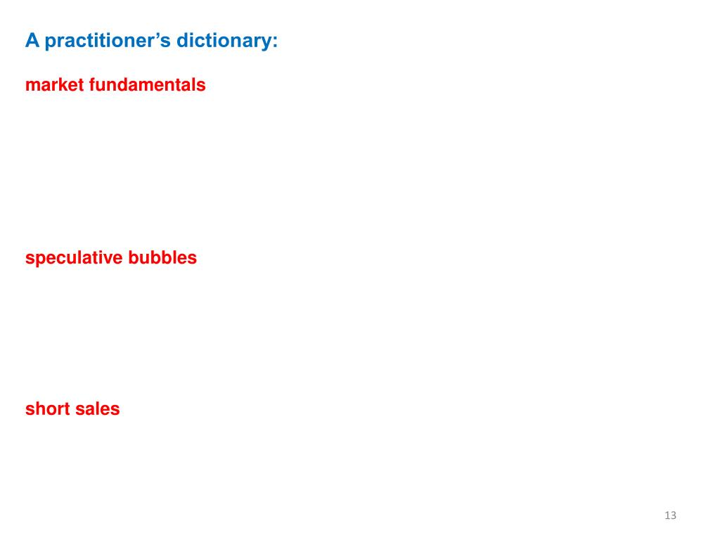 A practitioner's dictionary: