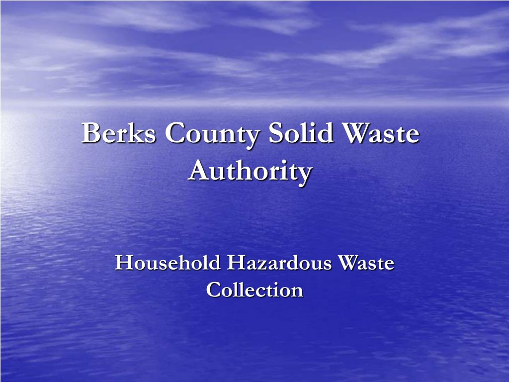 berks county solid waste authority l.