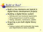 build or buy