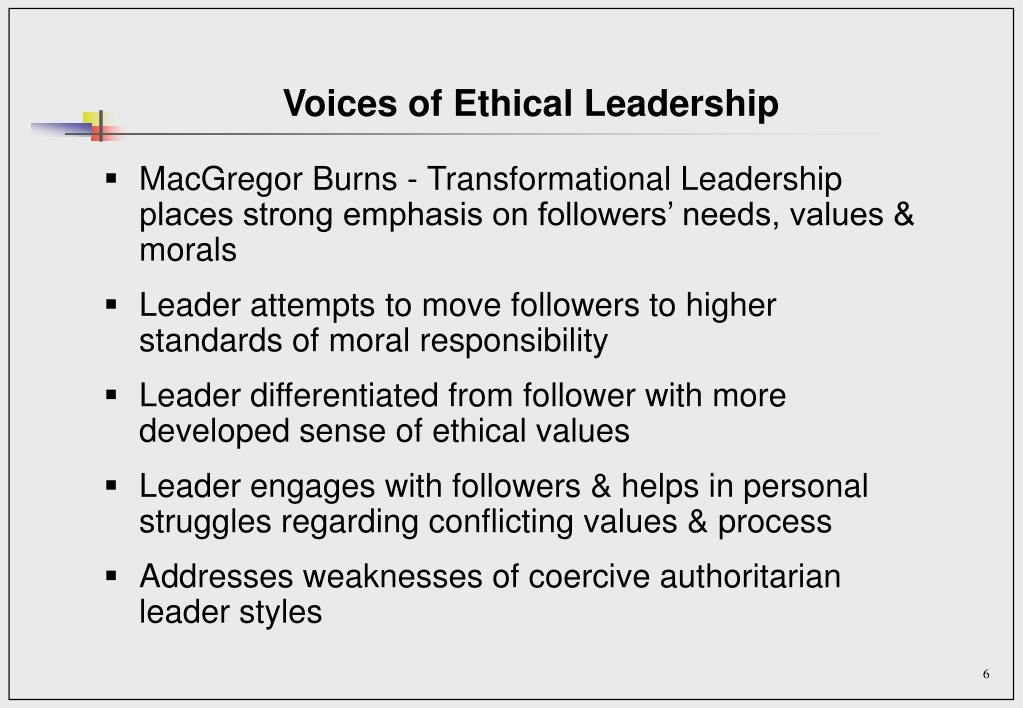 Voices of Ethical Leadership