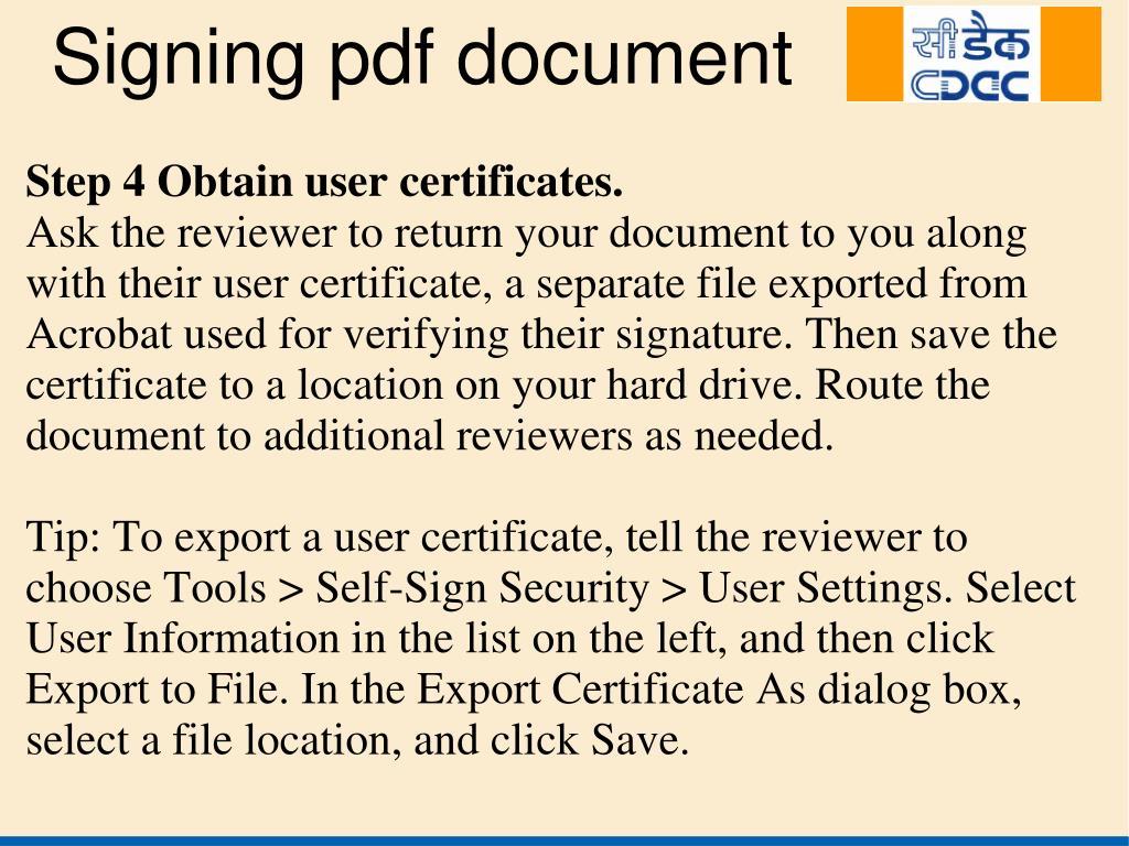 Step 4 Obtain user certificates.