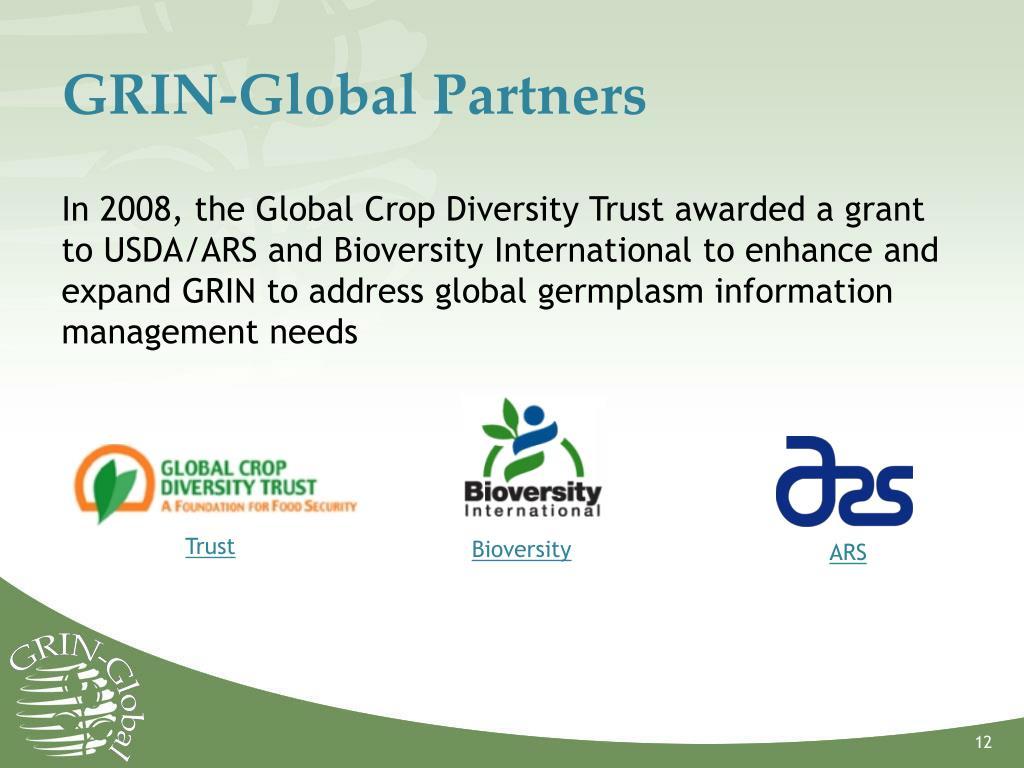 GRIN-Global Partners