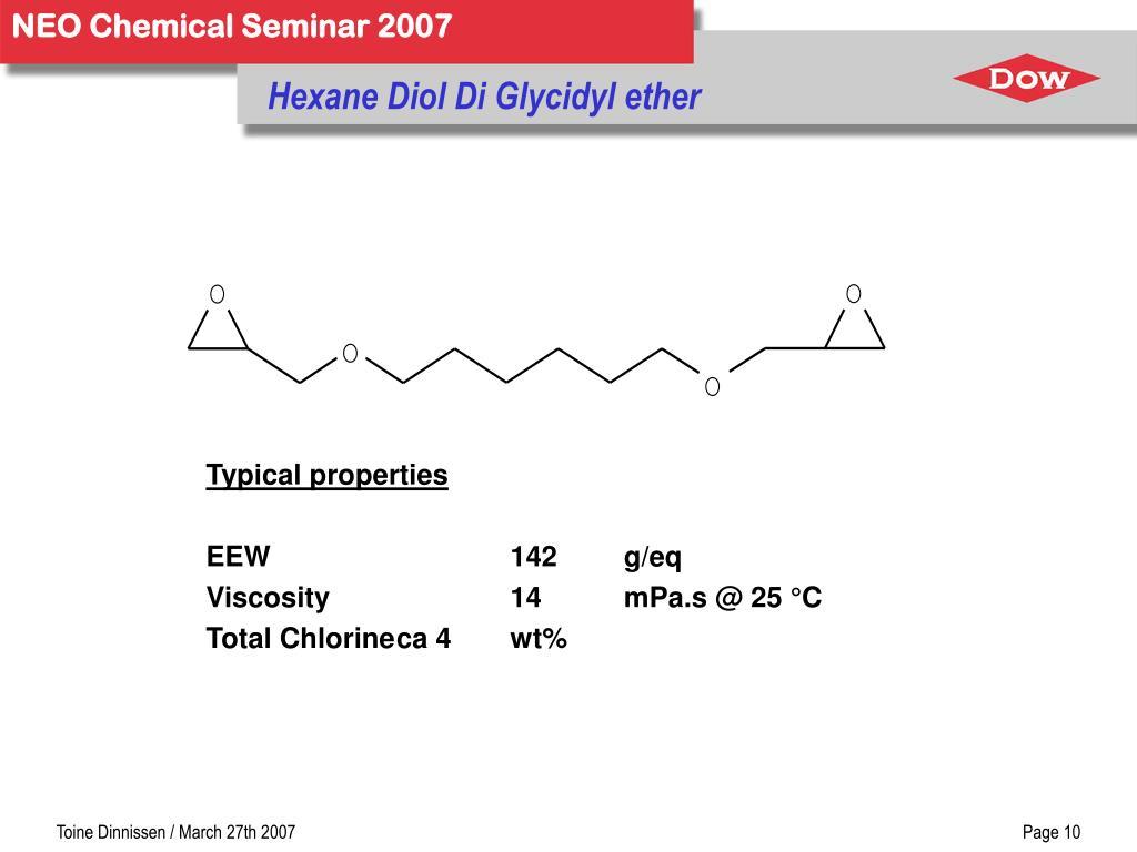 Hexane Diol Di Glycidyl ether