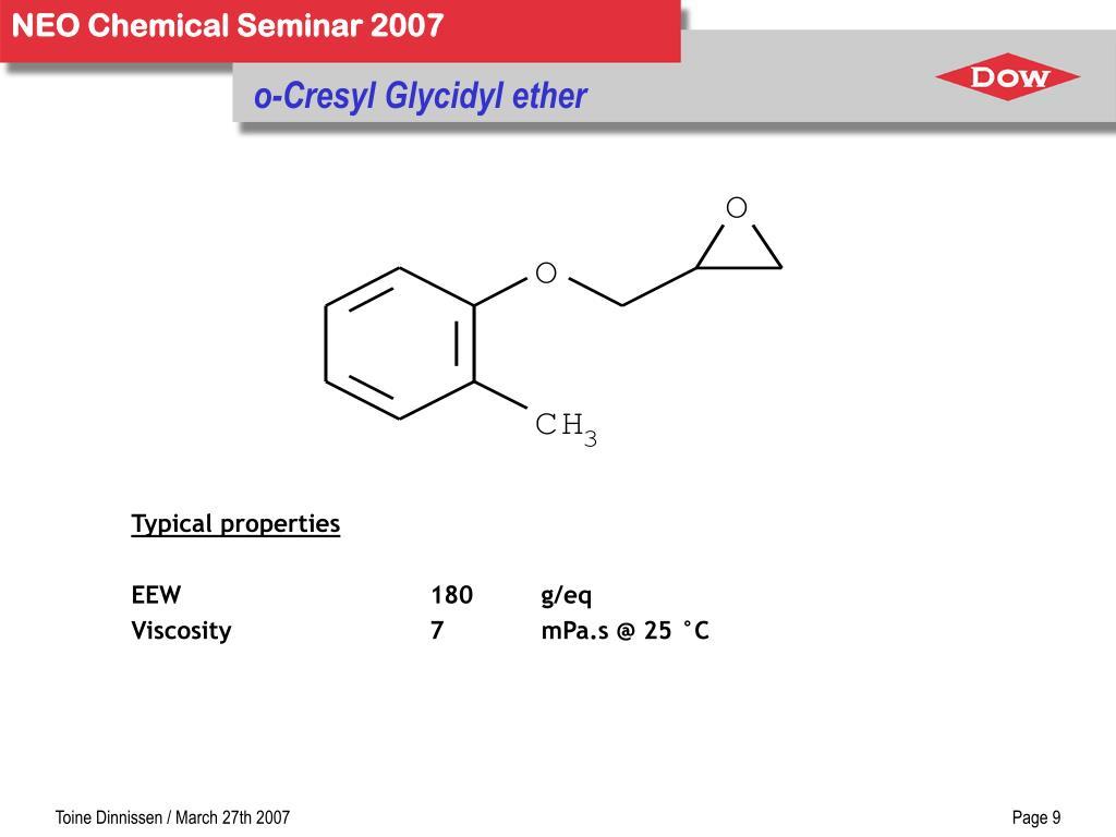 o-Cresyl Glycidyl ether