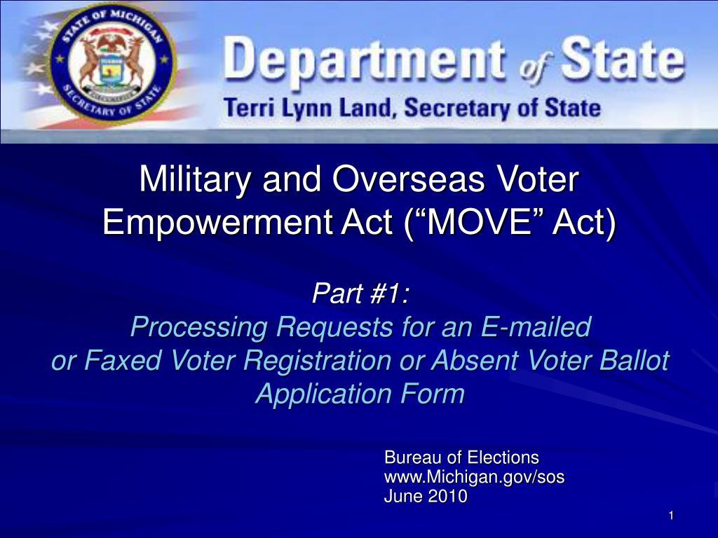 bureau of elections www michigan gov sos june 2010 l.