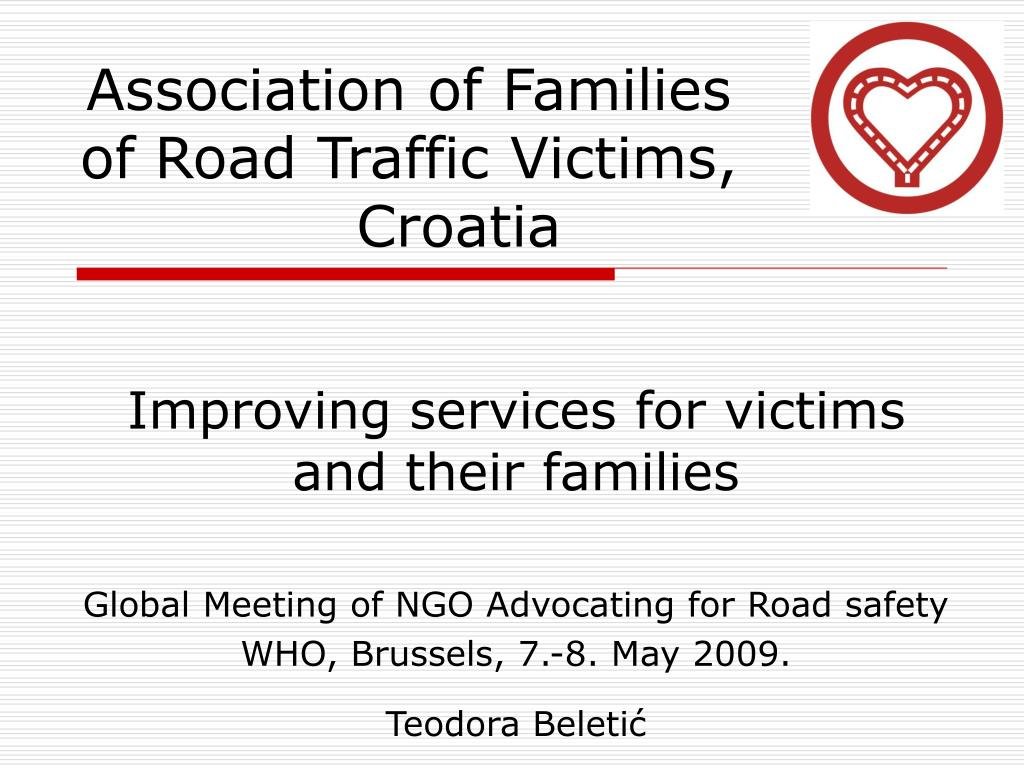 association of families of road traffic victims croatia l.