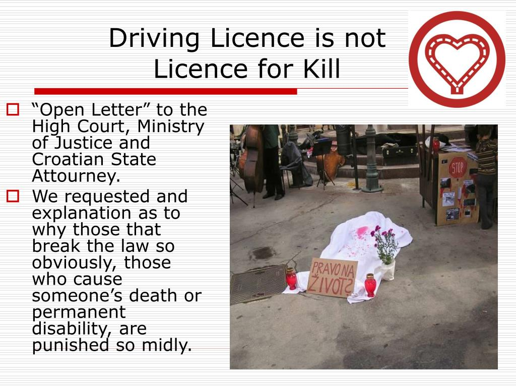 Driving Licence is not