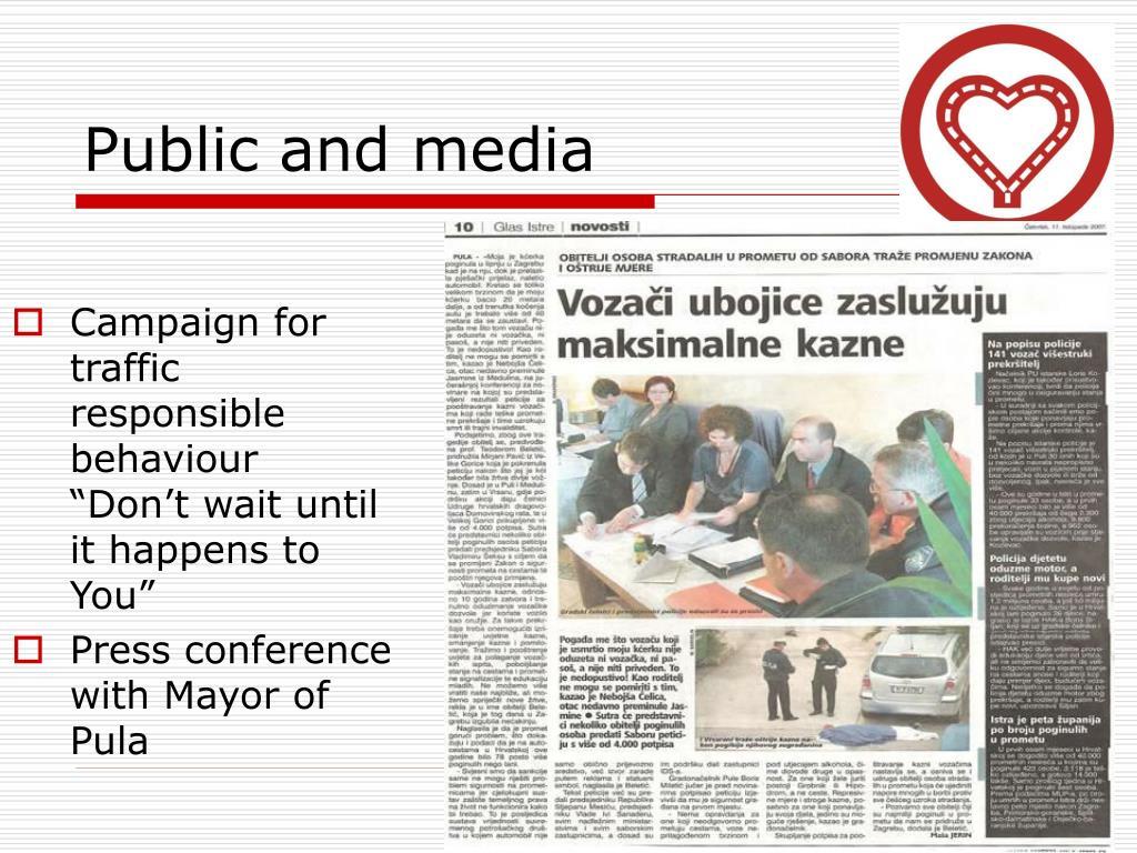 Public and media