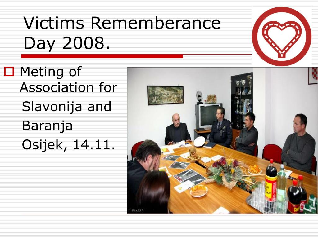 Victims Rememberance Day 2008.