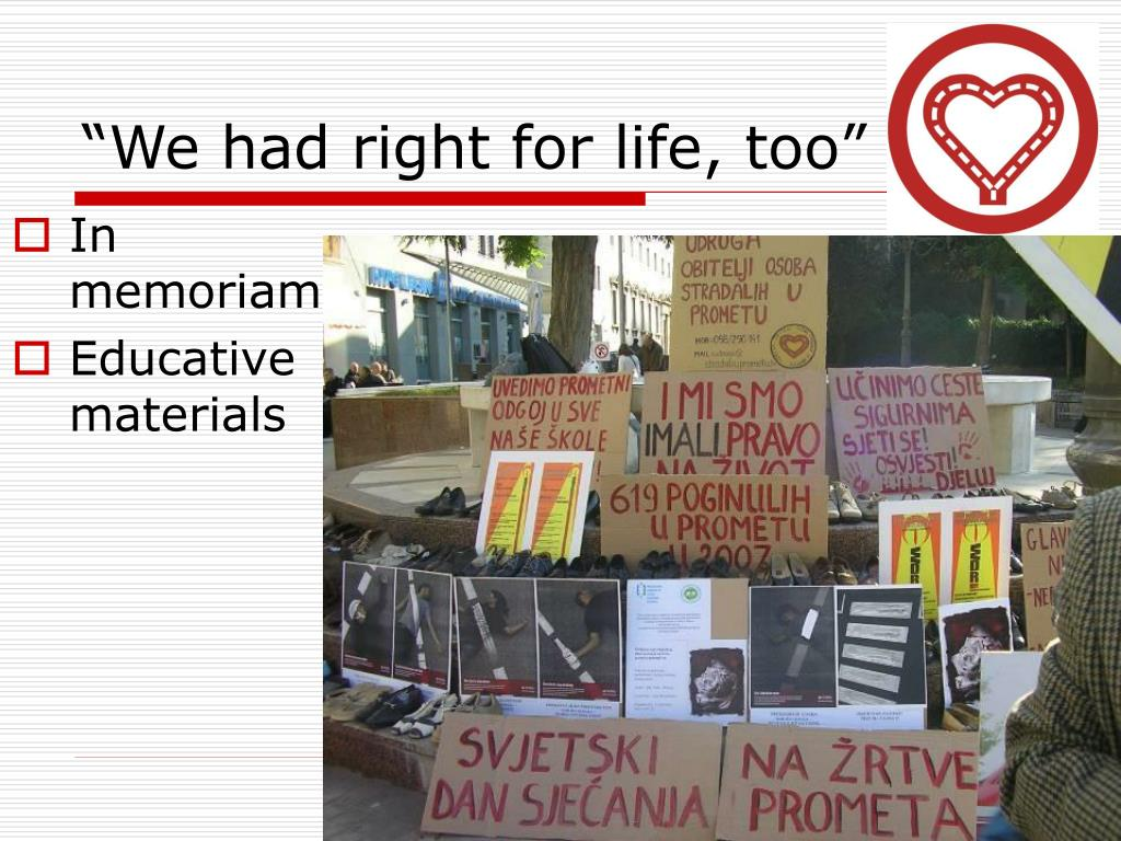 """""""We had right for life, too"""""""