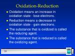 oxidation reduction35