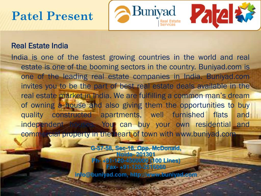 Patel Present