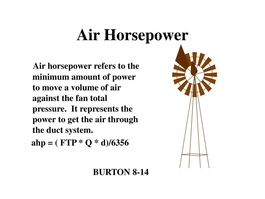 Air Horsepower