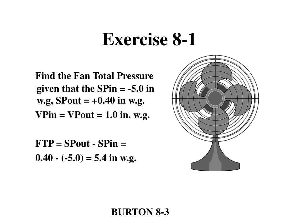 Exercise 8-1