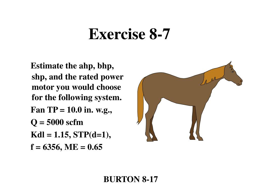 Exercise 8-7
