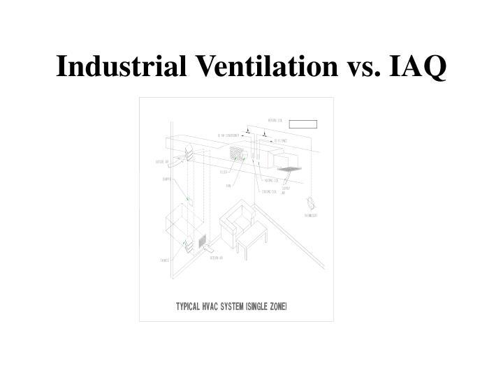 Industrial ventilation vs iaq3