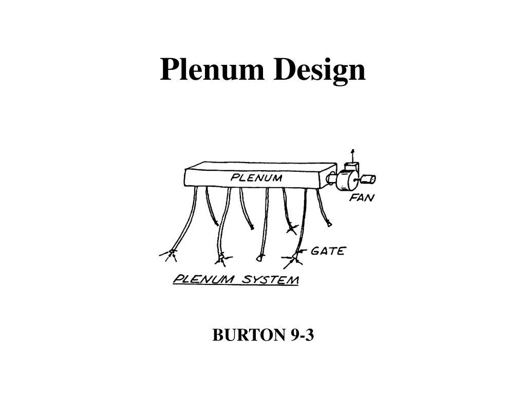 Plenum Design