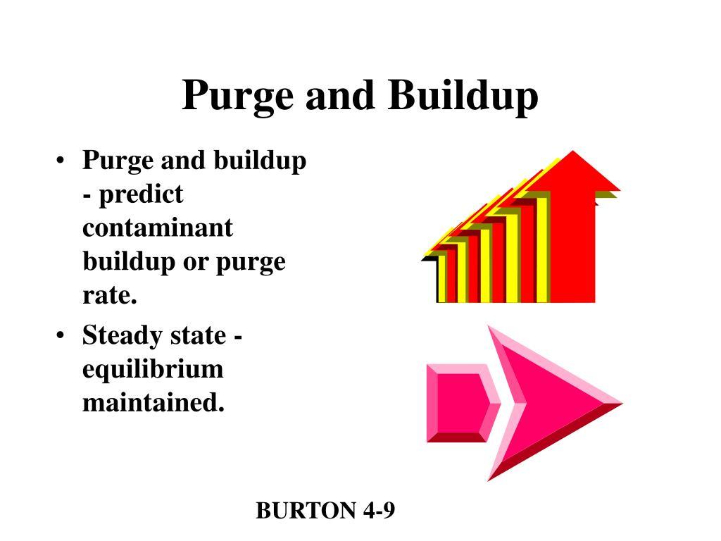 Purge and Buildup