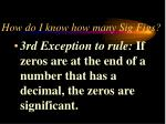 how do i know how many sig figs12