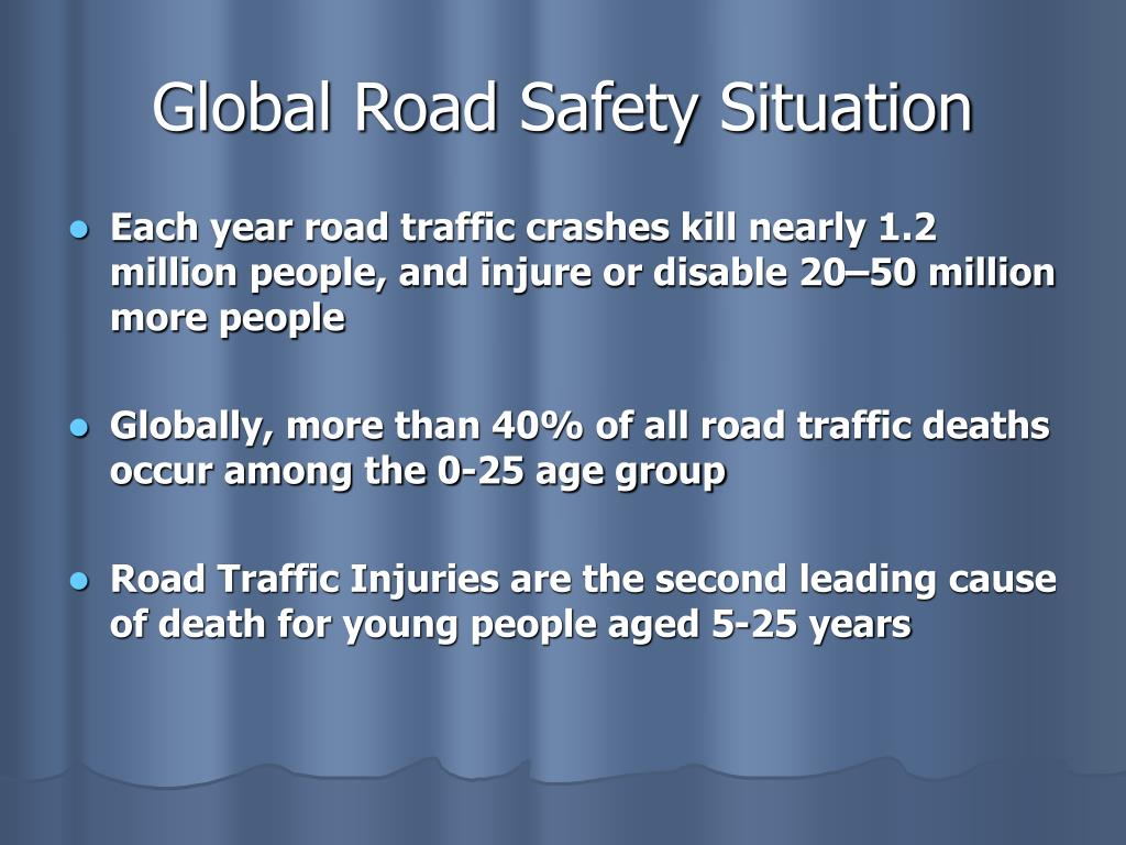 Global Road Safety Situation