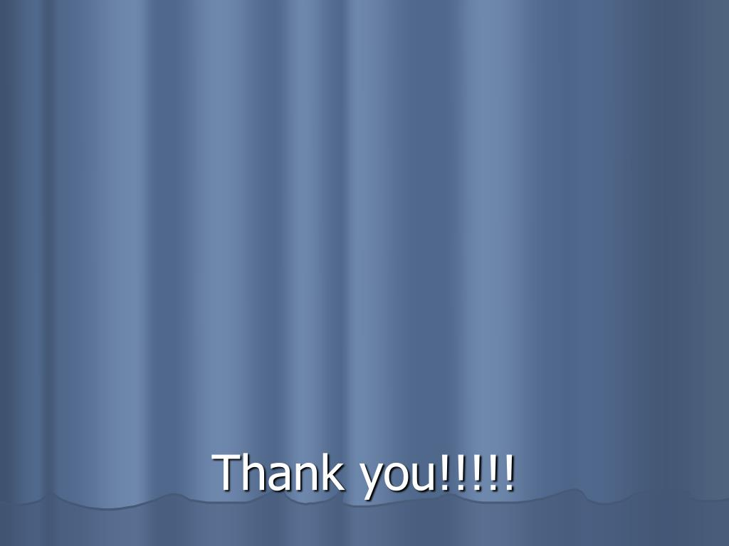Thank you!!!!!