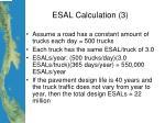 esal calculation 3