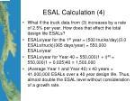 esal calculation 4