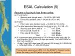 esal calculation 5