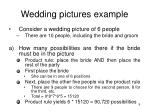 wedding pictures example