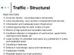 traffic structural
