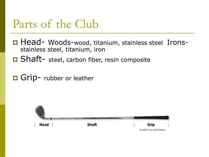 Parts of the club