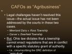 cafos as agribusiness41