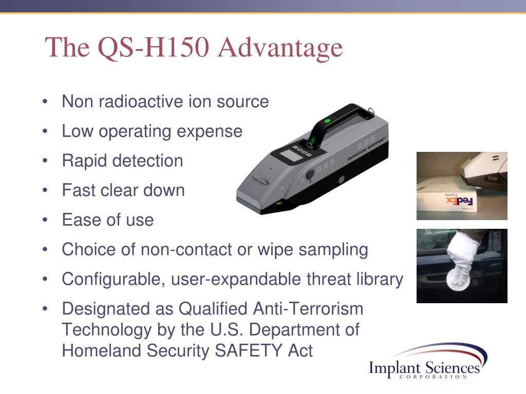 The QS-H150 Advantage