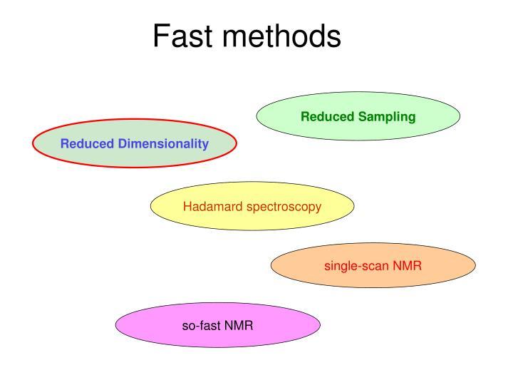 Fast methods