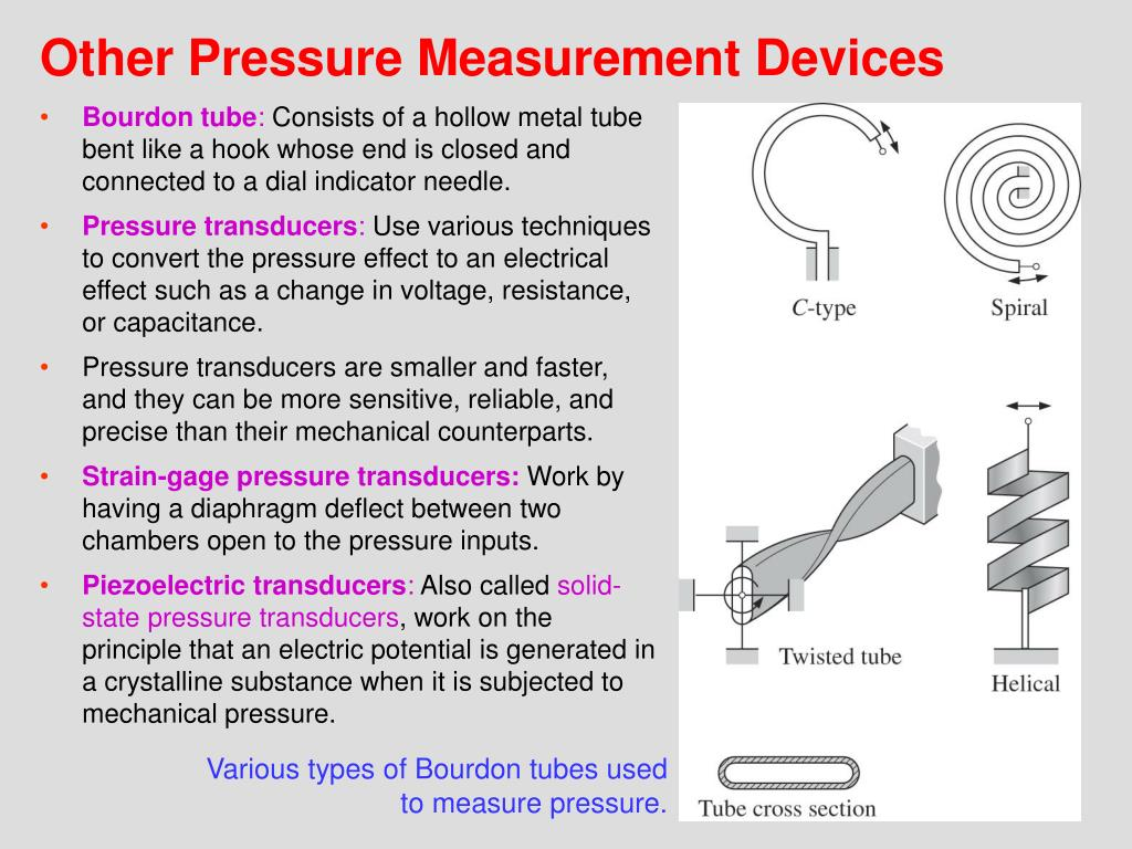 Other Pressure Measurement Devices