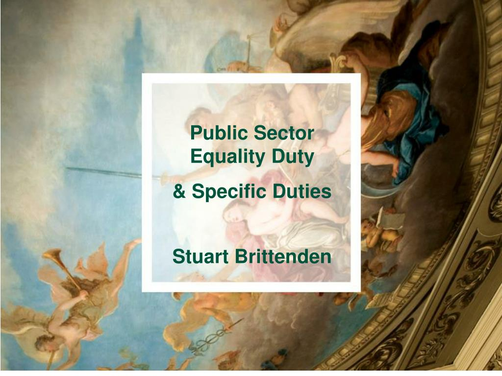 Public Sector Equality Duty