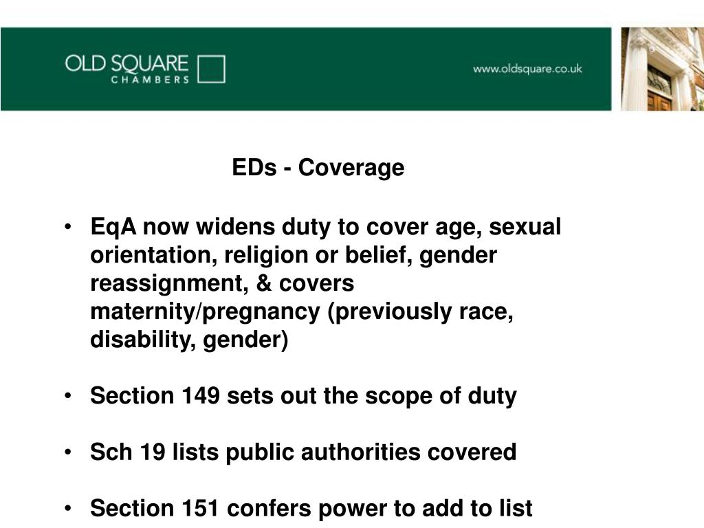 EDs - Coverage