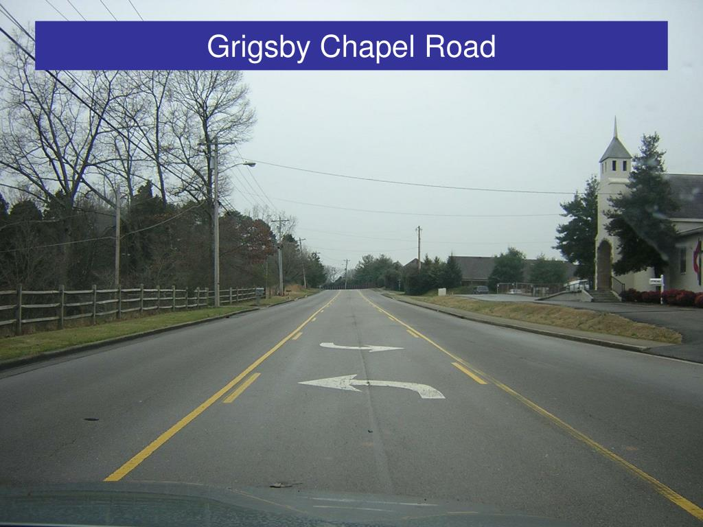 Grigsby Chapel Road