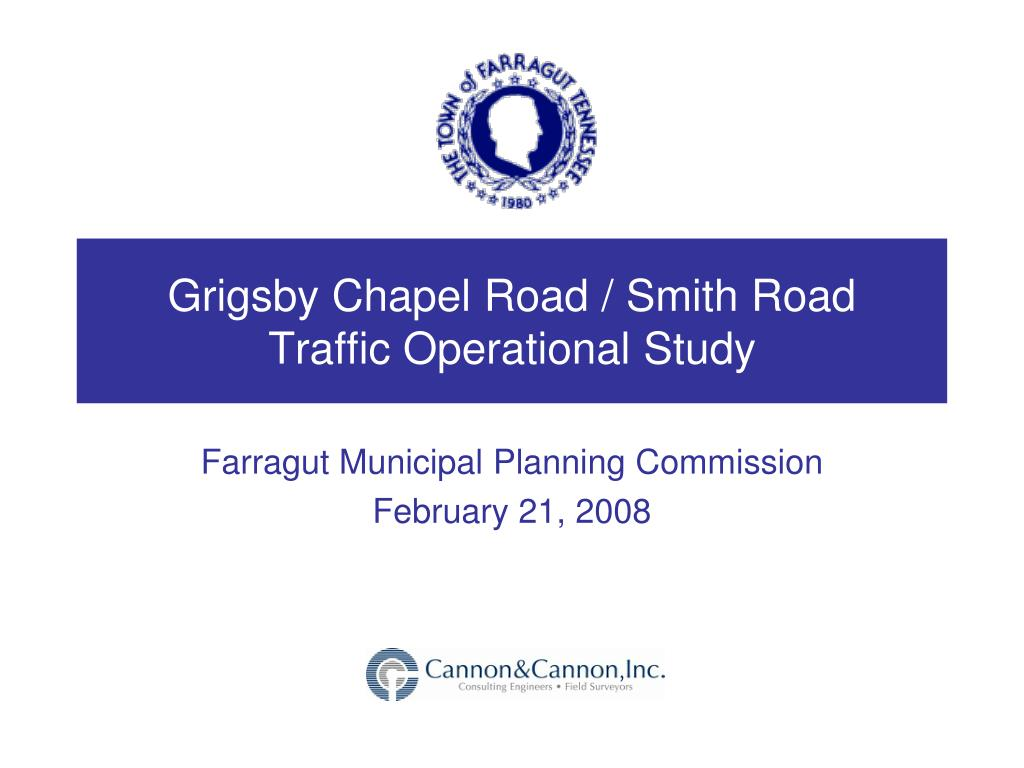 grigsby chapel road smith road traffic operational study l.